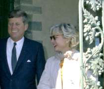 John Kennedy and Mary Meyer