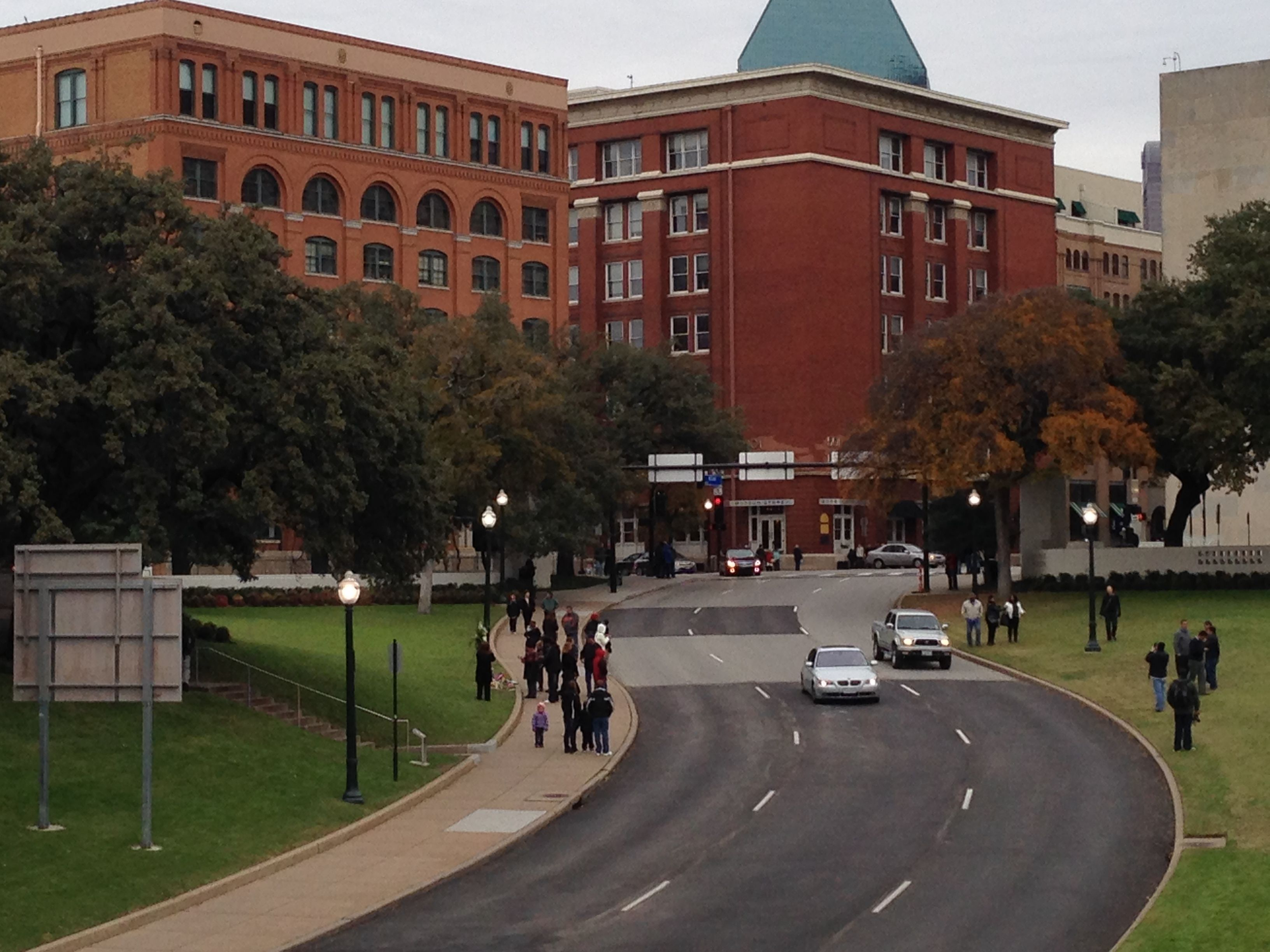 Dealey Plaza Panorama (Andrew Kreig Photo)