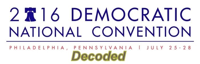 Democratic National Convention 2016 Decoded