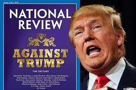 Donald Trump National Review cover Jan. 21, 2016