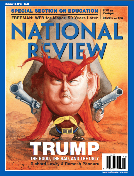 Donald Trump National Review Cover October 2015