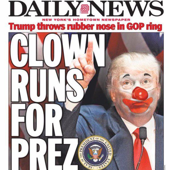 Donald Trump New York Daily News coverage